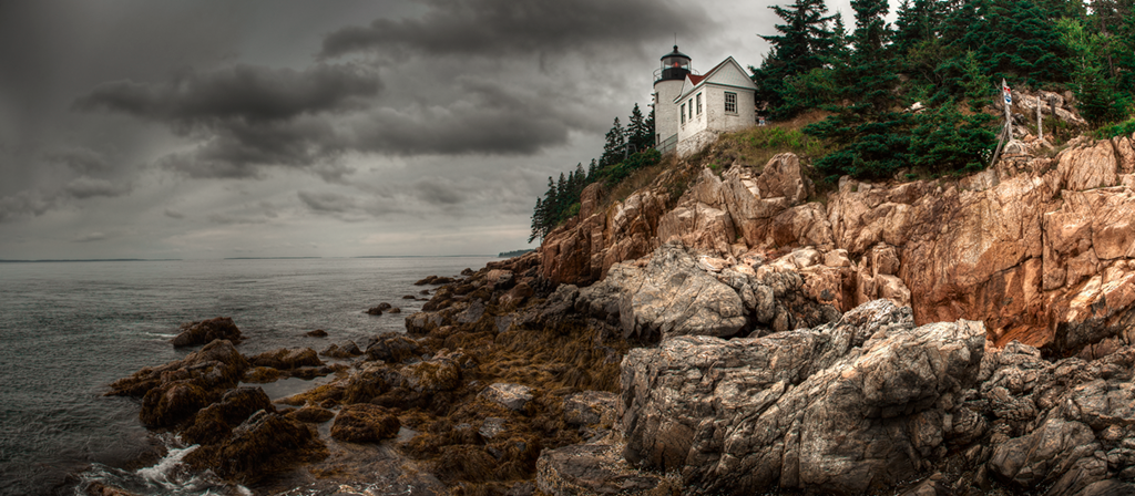 Bass Harbor Lighthouse - Acadia National Park